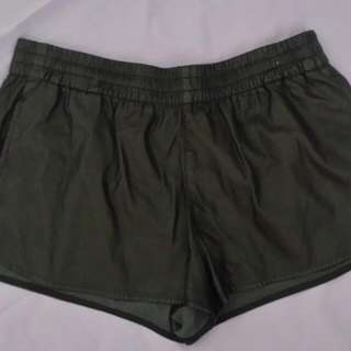 Sportsgirl PU Shorts