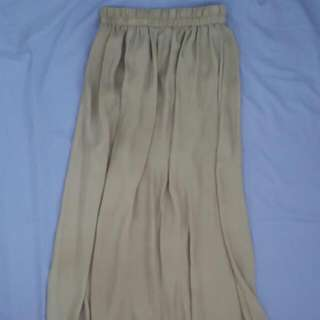 Cotton On Light Brown Maxi Skirt