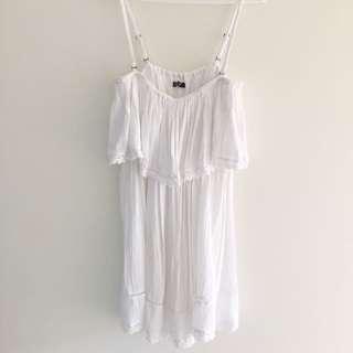 RUSTY White Dress