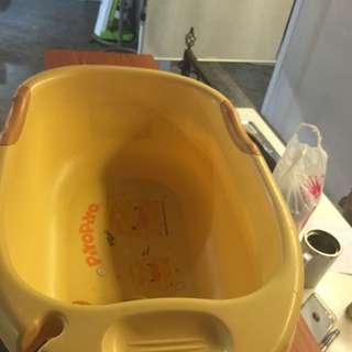 黃色小鴨 浴盆 洗澡盆 二手