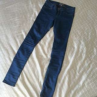 Forever New Stretch Denim Pants, Size 6