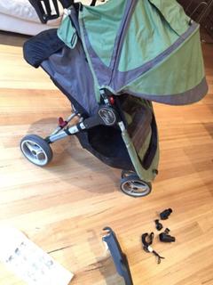 City Mini Baby Jogger Pram + COVER + LIQUID HOLSTER