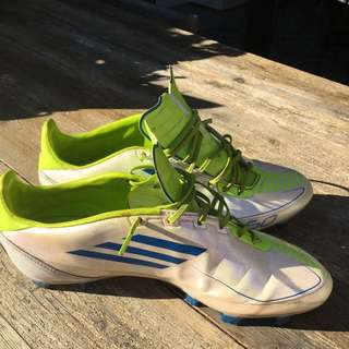 Football Boots Adidas F50 Size 9.5