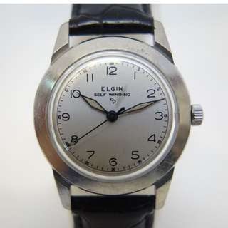 Elgin Arabic Numeral Automatic Vintage Watch