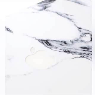 MacBook Air Sticker 13 Inch - White Marble