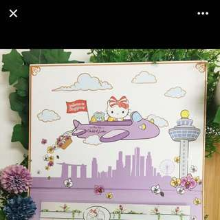 Hello Kitty Limited edition Stamps From Hello Kitty Orchard Restaurant Singapore