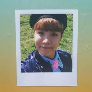 J-hope Young Forver Polaroid/Photocard