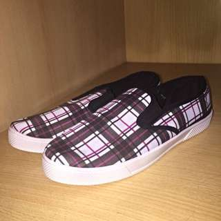 Factorie Checkered Slip-Ons