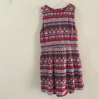 Aztec Design Skater Dress