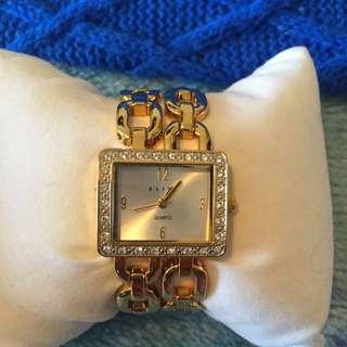 Elite Gold Watch