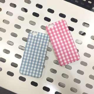粉藍情侶手機殼