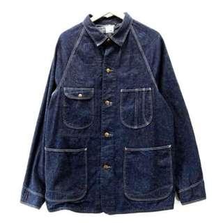 3號尺寸 Orslow 工裝四口袋單寧外套 日本製