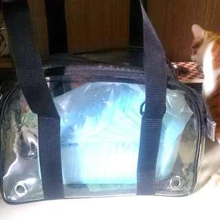 寵物外出透明提袋