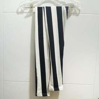 Black&white Stripes legging