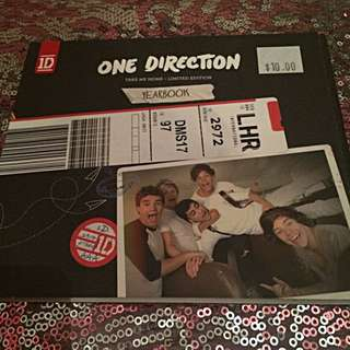 REDUCED One Direction Take Me Home Limited Edition Yearbook