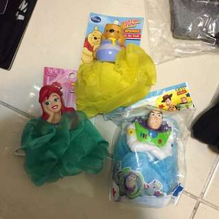 迪士尼 造型沐浴球