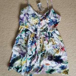 Temt Floral Dress Size 14