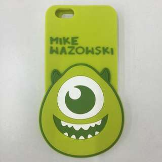 Disney 迪士尼 Monsters Uniyersity   怪獸電力公司 大眼怪 大眼仔 mike 矽膠造型手機殼   iPhone 6 6S Plus  5.5吋