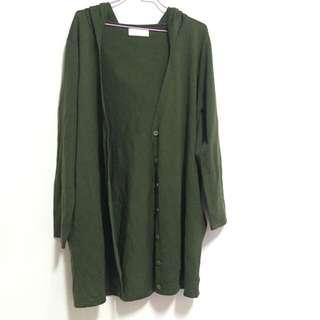 墨綠色外套