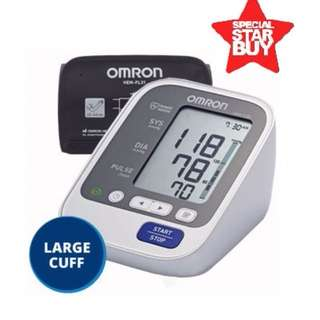 New Stock! - Large Cuff - Automatic Omron BP Monitor - HEM 7130 L - 60 Memories with Date and Time - Brand New