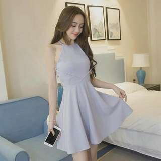 Dress - Pastel/Lavender Blue