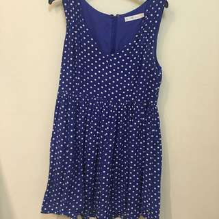 Quirky Circus Polkadot Dress