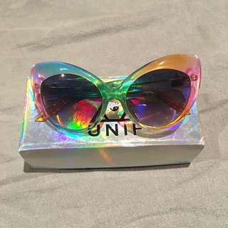 UNIF Moody Rainbow Sunglasses