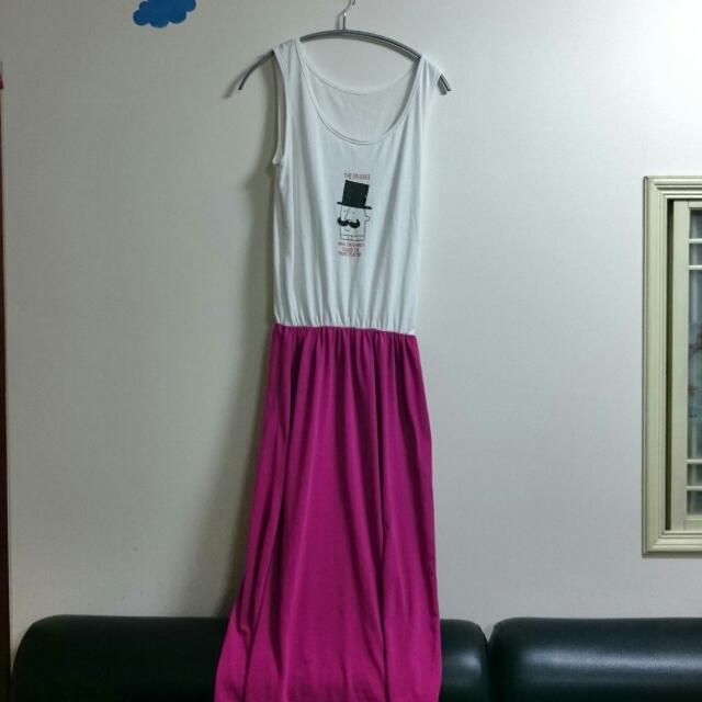 造型長洋裝