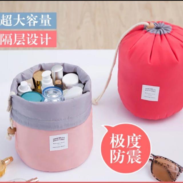 韓系水桶化妝包