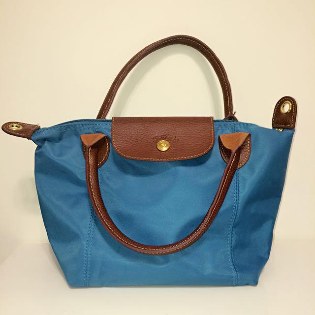 藍色手提包(小)