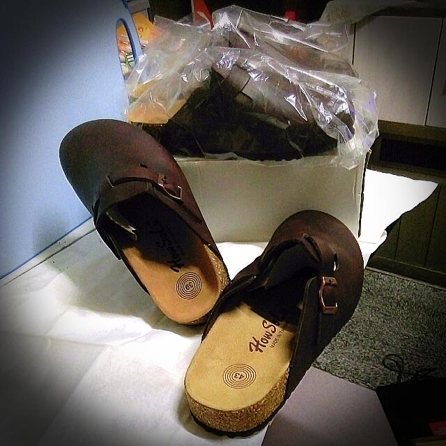 全新台灣製造勃肯鞋