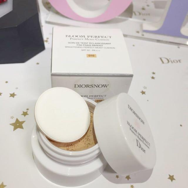 專櫃贈送 Dior 迪奧 迷你雪晶靈光感氣墊粉餅 現貨盒裝迪奧新品