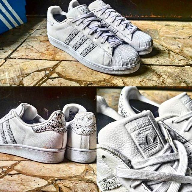 NEW ) RARE ITEM ADIDAS SUPERSTAR II FOUNDATION PACK WHITE