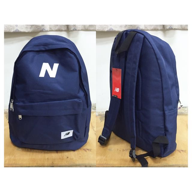 53b98f8e2d 🎉現貨 New Balance Mellow Backpack 後背包 黑/藍, For Her di Carousell