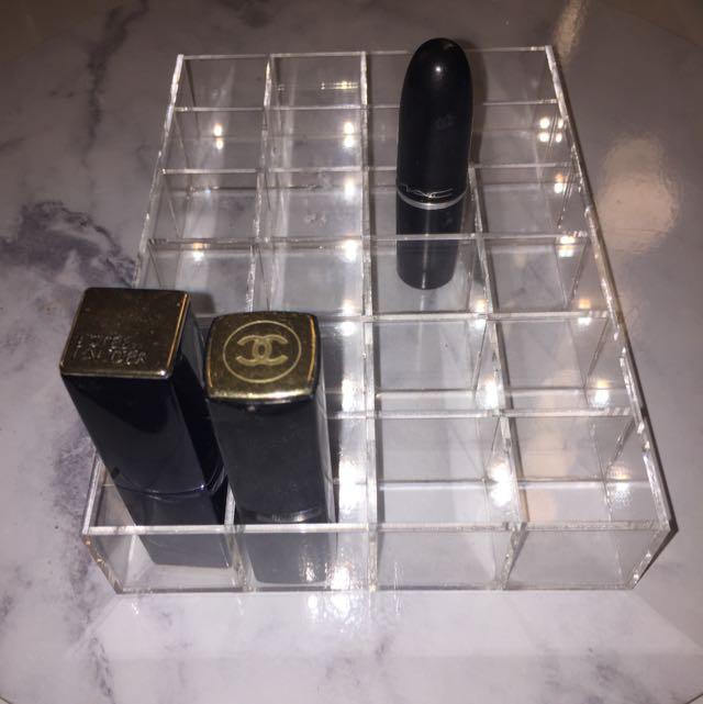 Acrylic 24 Lipstick Holder