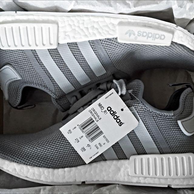 c43317c0f7dab Adidas NMD R1 (Charcoal Grey)