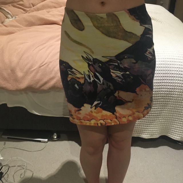 Alice McCall Bird Skirt