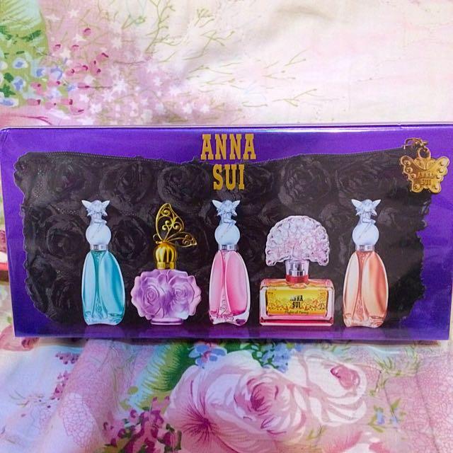 (保留中❤️)ANNASUI 經典小香水禮盒