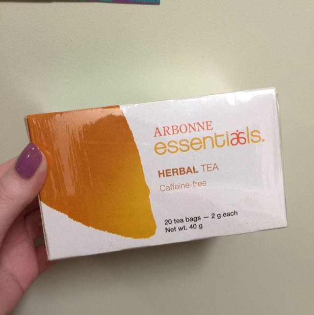 Arbonne Herbal Tea (vegan) Caffeine Free