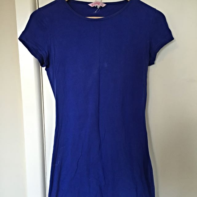 Blue Tshirt Dress Size 10