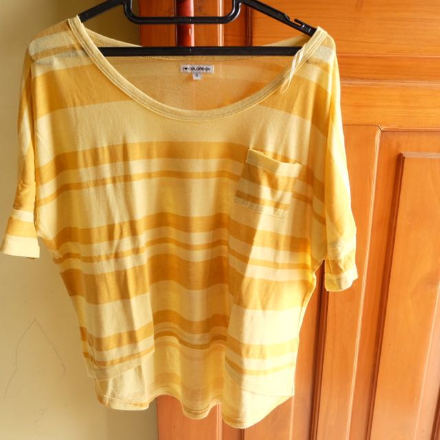 COLORBOX yellow stripes