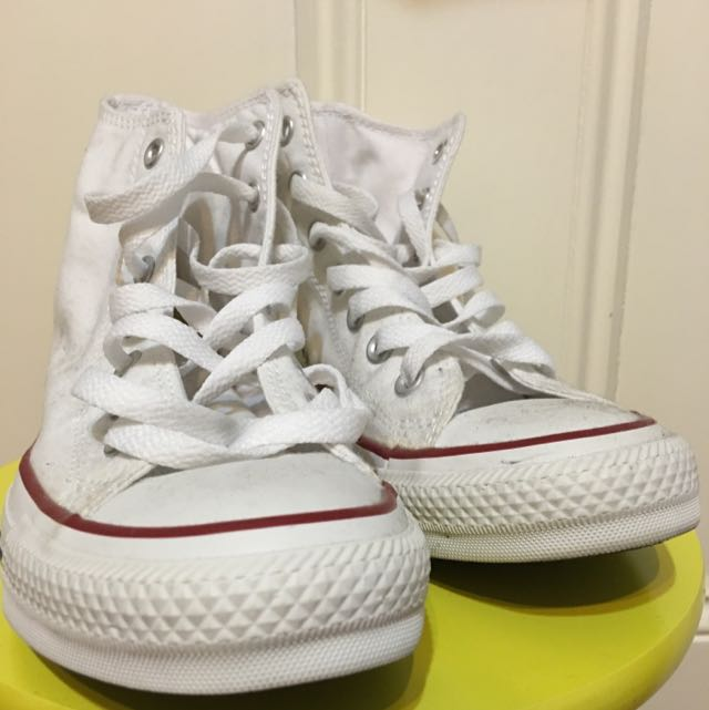 Converse Hitop White