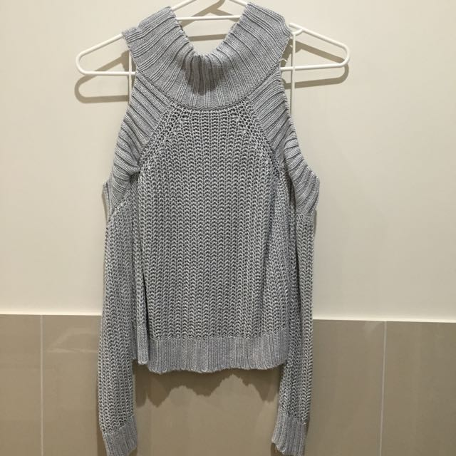 Cutout Shoulder Jumper