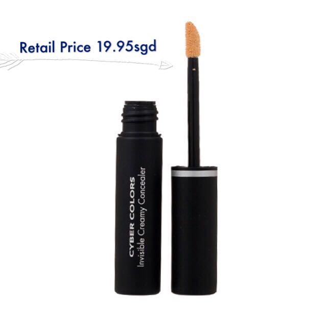 cyber colors invisible creamy concealer 02 beige health beauty on