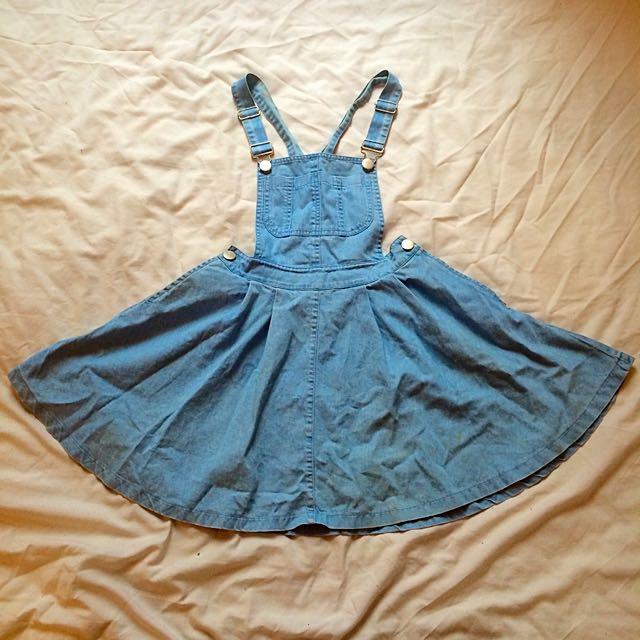 Dungaree Dress