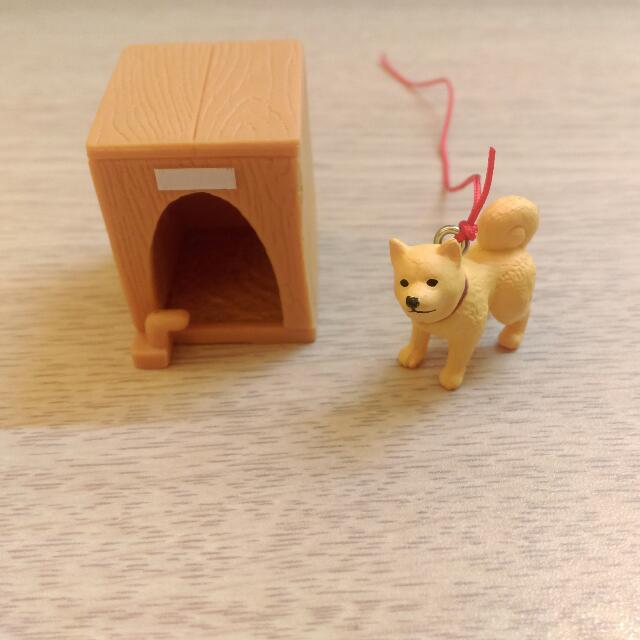 EPOCH 犬與犬小屋 柴犬 狗屋 扭蛋 轉蛋
