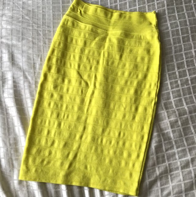 Forever 21 Midi Skirt, Size Small