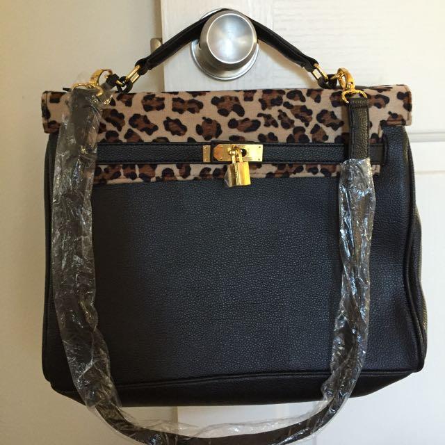 Hermes Style Bag Nylon
