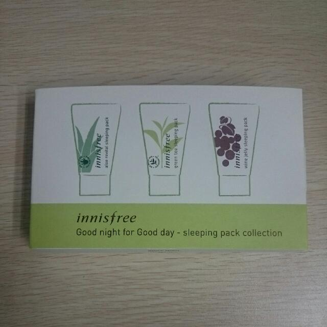 [innisfree] Good Night For Good Day - Sleeping Pack Collection