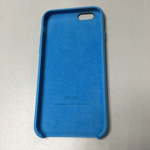 iphone 6 6s 原廠 矽膠保護殼 Apple case